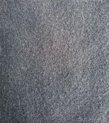 """Varsity Club Stretch Wool-Look Fabric 57""""-Black"""