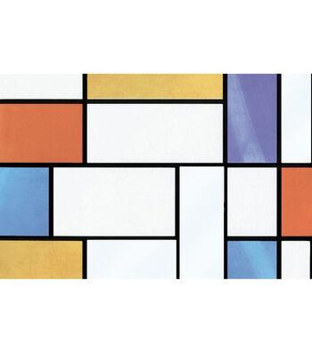 Peel & Stick Window Film-Mondrian
