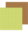 Doodlebug Sweet Summer 12\u0027\u0027x12\u0027\u0027 Double-Sided Cardstock-Coconut Grove
