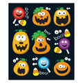 Carson Dellosa Halloween Prize Pack Stickers, 216 Per Pack, 12 Packs
