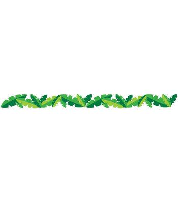 Eureka School Extra Wide Deco Trim-Toucan Leaves