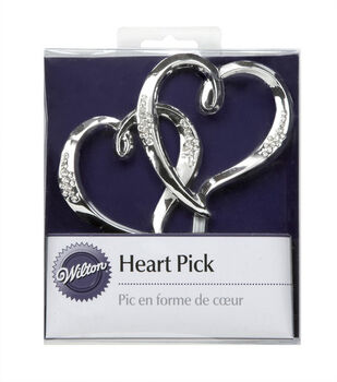 Wilton Heart Cake Pick