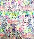 Stretch Chiffon Fabric 57\u0027\u0027-Bright Medallions