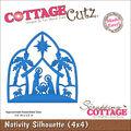 CottageCutz Made Easy Die Nativity Silhouette