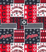 Cleveland Indians Cotton Fabric-Winter, , hi-res