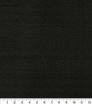 Solarium Outdoor Fabric-Linen Texture Caviar