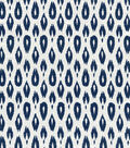 Nate Berkus Home Decor Upholstery Fabric 54\u0022-Indre Lynwood Navy