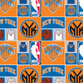 New York Knicks Cotton Fabric -Patch