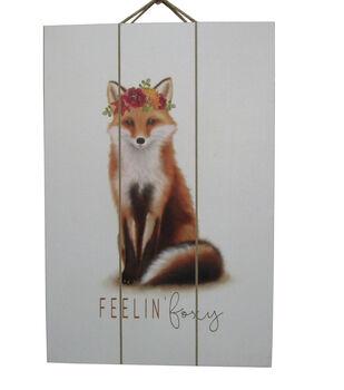 Simply Autumn Wall Decor-Fox & Feelin' Foxy