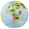 Inflatable Political Globe 16-inch