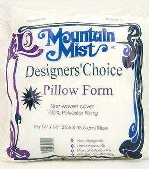 "Mountain Mist Designer's Choice Pillow Forms 14""X14"""