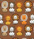 Doodles Cotton Fabric -Lion Pack