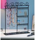 Metal Jewelry Display Shelf 12\u0022X3.5\u0022X14\u0022-Black