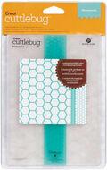 Cuttlebug 5\u0022x7\u0022 Embossing Folder/Border Set-Honeycomb