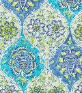 Waverly King\u0027s Turban Lightweight Decor Fabric 54\u0022-Prussian
