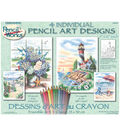 Dimensions Pencil By Number Kit Beach Scenes
