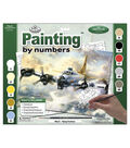15-3/8\u0022x11-1/4\u0022 Adult Paint By Number Kit-Flying Fortress