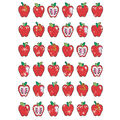 Apple Dazzlers Sparkle Stickers 12 Packs