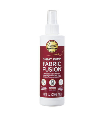 Aleene's Fabric Fusion 8 fl. oz. Permanent Fabric Adhesive Spray Pump