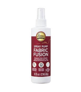 Aleene's Fabric Fusion 8 fl. oz. Permanent Fabric Adhesive Spray Pump