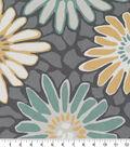 Robert Allen @ Home Print Swatch 55\u0022-Tactile Flora Dew