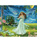Gold Collection Spring Fairy Counted Cross Stitch Kit-14\u0022X12\u0022 16 Count