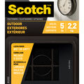 Scotch 12 pk Outdoor Fasteners-Black