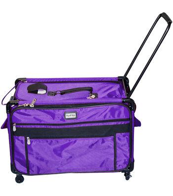 TUTTO Machine on Wheels Case-Purple