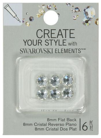 EK Success Create Your Style Swarovski Flatback 8mm Crystal