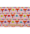 Blizzard Fleece Fabric 59\u0022-Foxy Pink