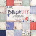 49 & Market Collection Pack 8\u0022X8\u0022-Cottage Life 9 Des/2 Ea
