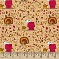 Peanuts Cotton Fabric-Turkey