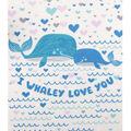 No Sew Fleece Throw-I Whaley Love You