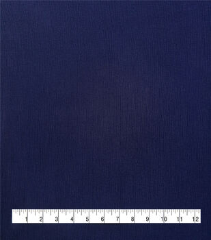 Silky Solids Crinkle Rayon Fabric-Eclipse