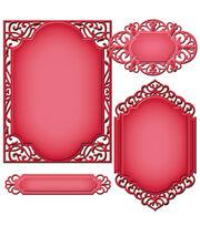 Spellbinders Nestabilities A2 Card Creator Dies-Divine Eloquence, , hi-res