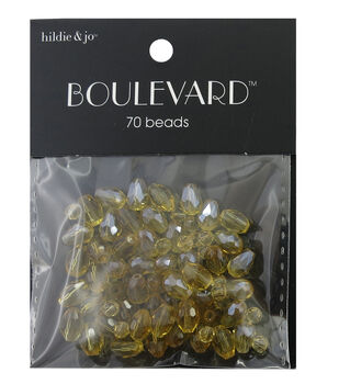 hildie & jo Boulevard 70 Pack Mix Gold Beads