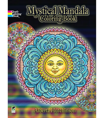 Adult Coloring Book-Dover Publications Mystical Mandala