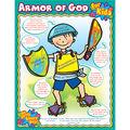 Carson-Dellosa Armor of God for Kids Chart 6pk