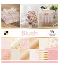 DCWV 48 pk 12\u0027\u0027x12\u0027\u0027 Single-sided Printed Cardstock-Blush