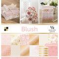 DCWV 48 pk 12\u0027\u0027x12\u0027\u0027 Single-sided Printed Cardstock-Blush