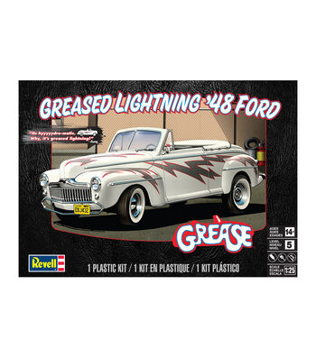 Plastic Model Kit-Greased Lightning '48 Ford Convertible