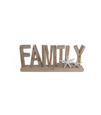 Seaport Family Character Decor