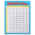 Multiplication Learning Chart 17\u0022x22\u0022 6pk