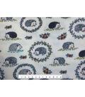 Anti-Pill Fleece Fabric -Lined Hedgehogs
