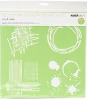Kaisercraft Designer 12''x12'' Template-Mixed Media, , hi-res