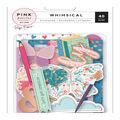 Pink Paislee Paige Evans Whimsical 40 pk Ephemera Cardstock Die-cuts