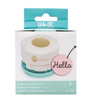 We R Memory Keepers 2'' Clear Cut Punch-Circle