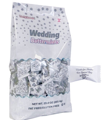 Save the Date Wedding Buttermints Bag