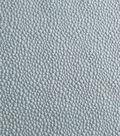 Silky Solids Fabric -  Pebble Jacquard Blue Poly Spandex