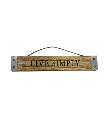 In the Garden Wall Decor-Live Simply